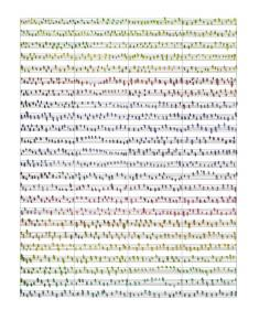 "Pamela Markoya Watercolor on Manuscript Paper 14"" x 11"""